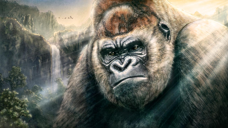 Ape by ongchewpeng