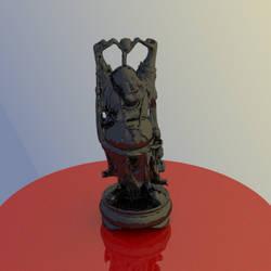 Shiny, Happy Buddha by shrey