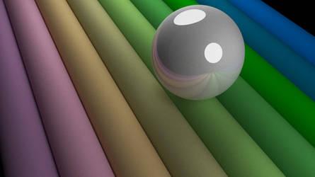 Rainbow pearl by shrey