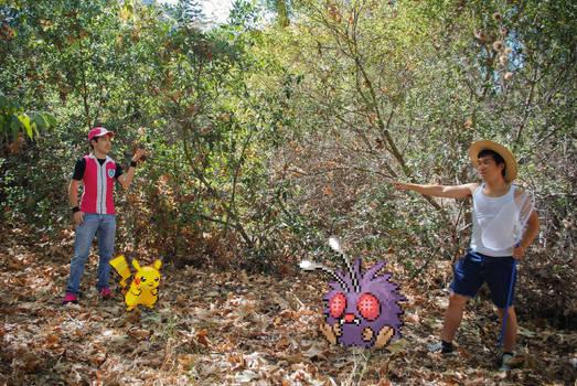 Pokemon Trainer: 'We got this Pikachu!'