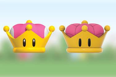 Super Crown for Bowsette/Boosette (3D Print Model)