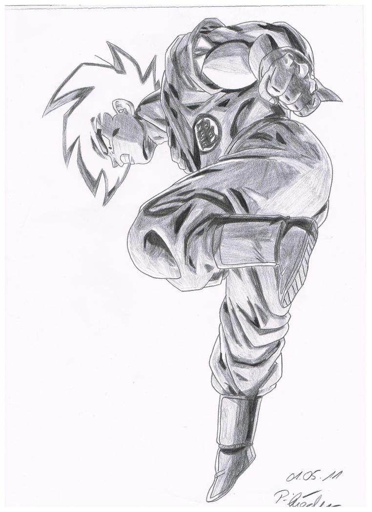 Goku fight by Vegetto90 on DeviantArt
