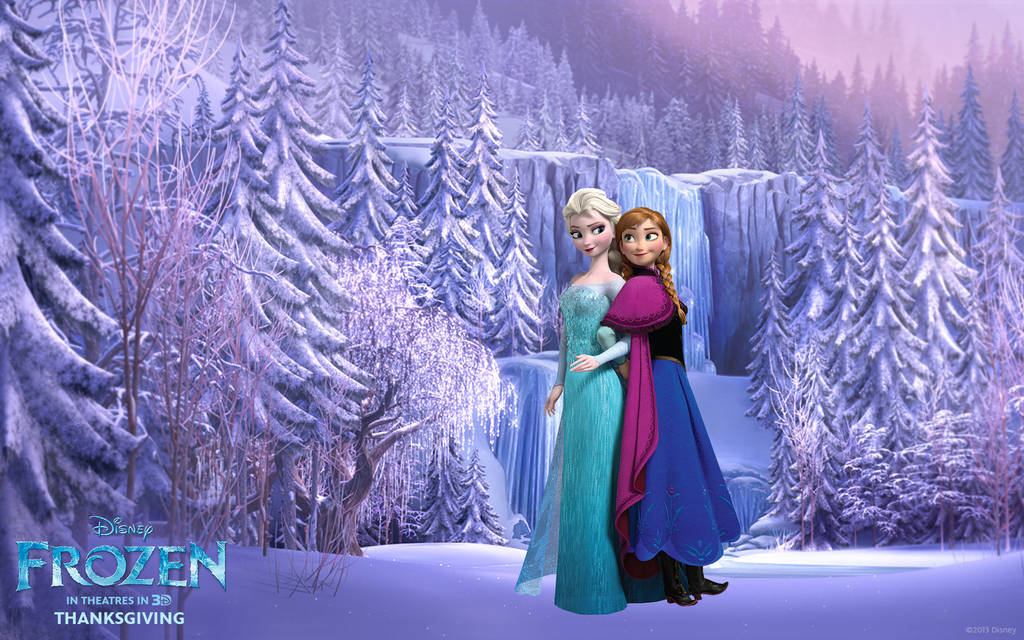 Frozen Wallpaper Elsa Anna I By Vegetto90 On Deviantart