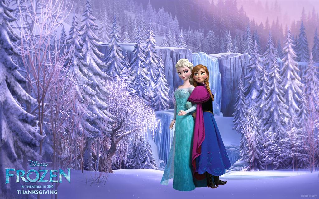 アナと雪の女王」のペア待ち受けが話題に…? Frozen Wallpaper Hd Anna
