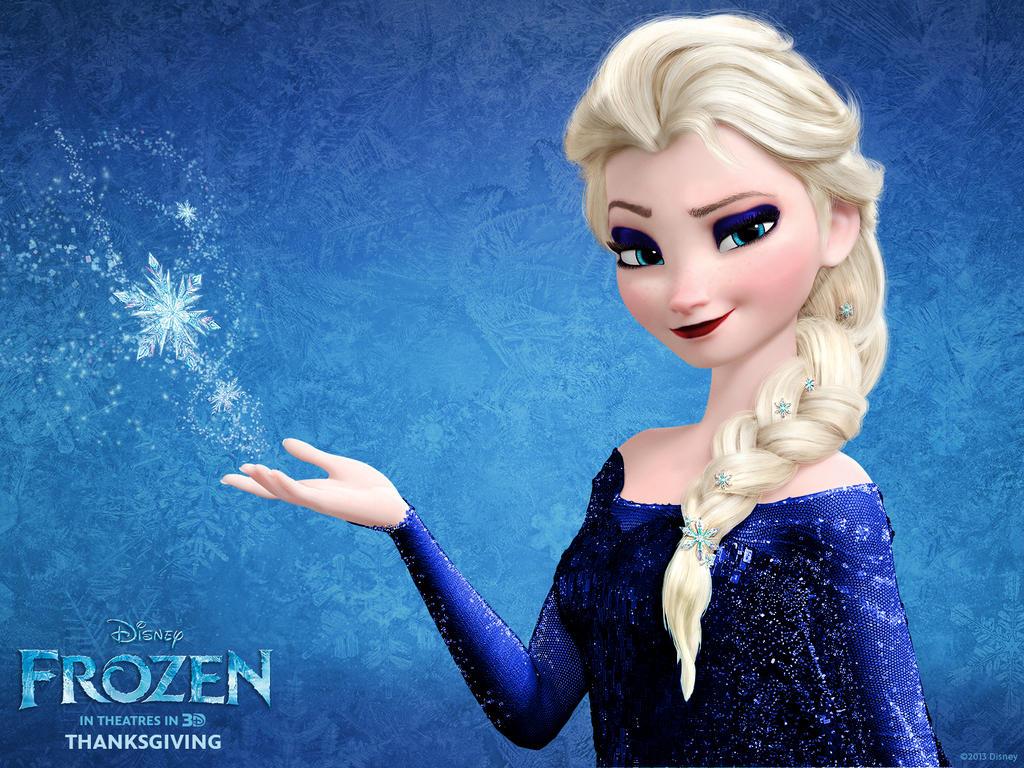 Peinado de Elsa en FROZEN| Frozen Elsa's Coronation