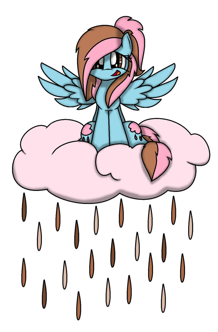 Chocolate Rain on a Choclate Rain Cloud by MlpChocolateRain on ...