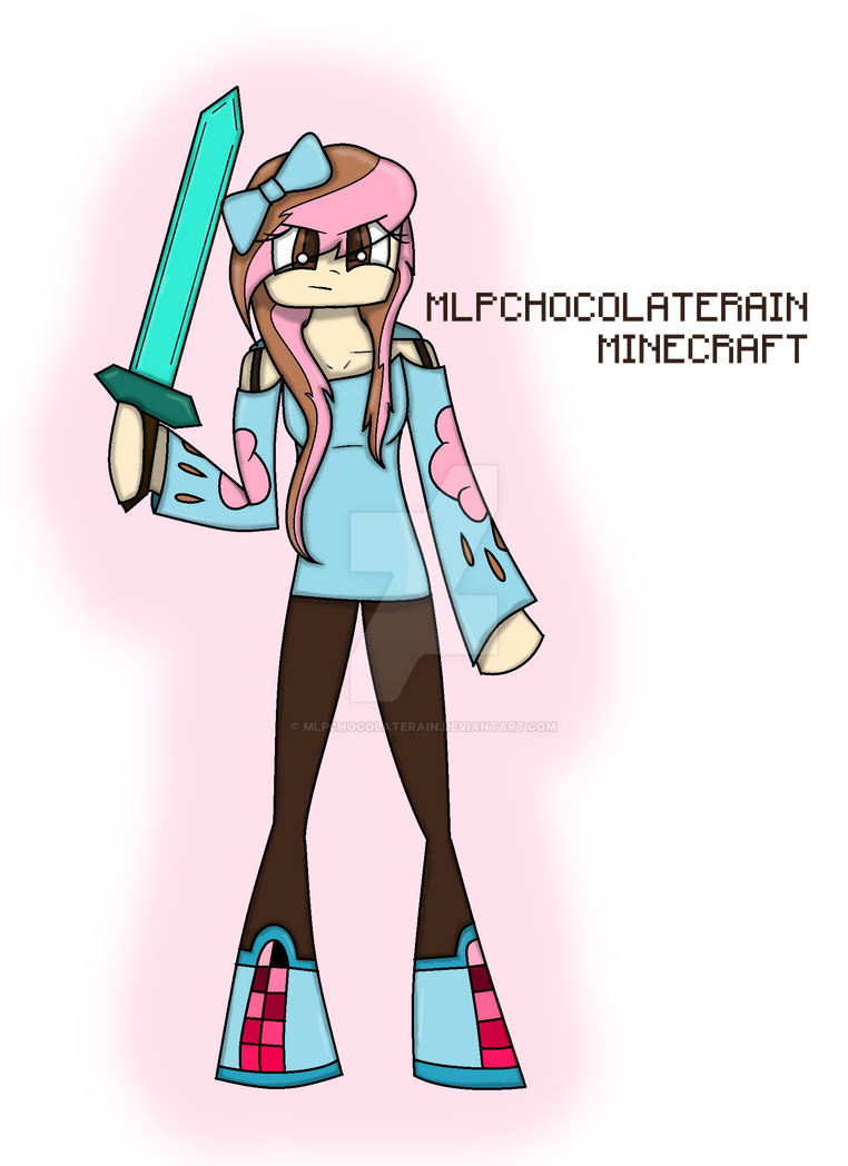 Minecraft Chocolate Rain by MlpChocolateRain on DeviantArt