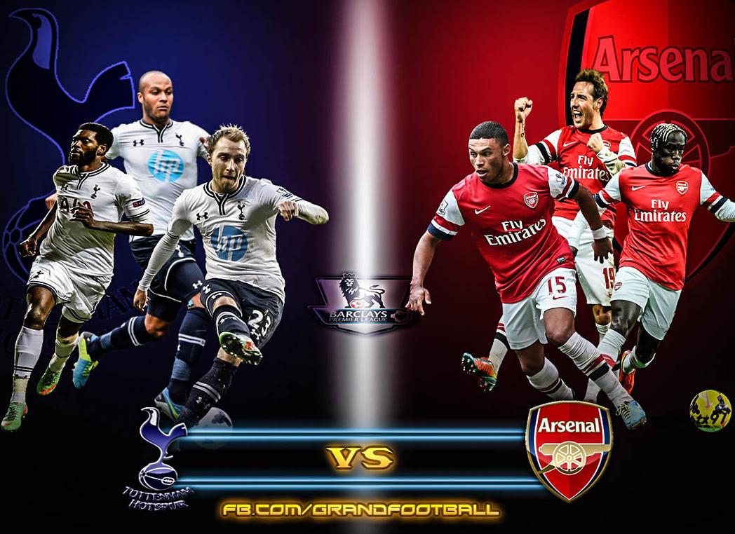 Tottenham Hotspur Vs Arsenal Fc By Lionelkhouya On Deviantart