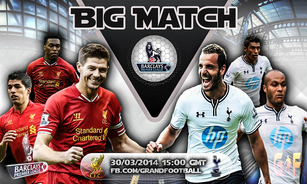 Liverpool FC Vs Tottenham Hotspur by lionelkhouya on DeviantArt