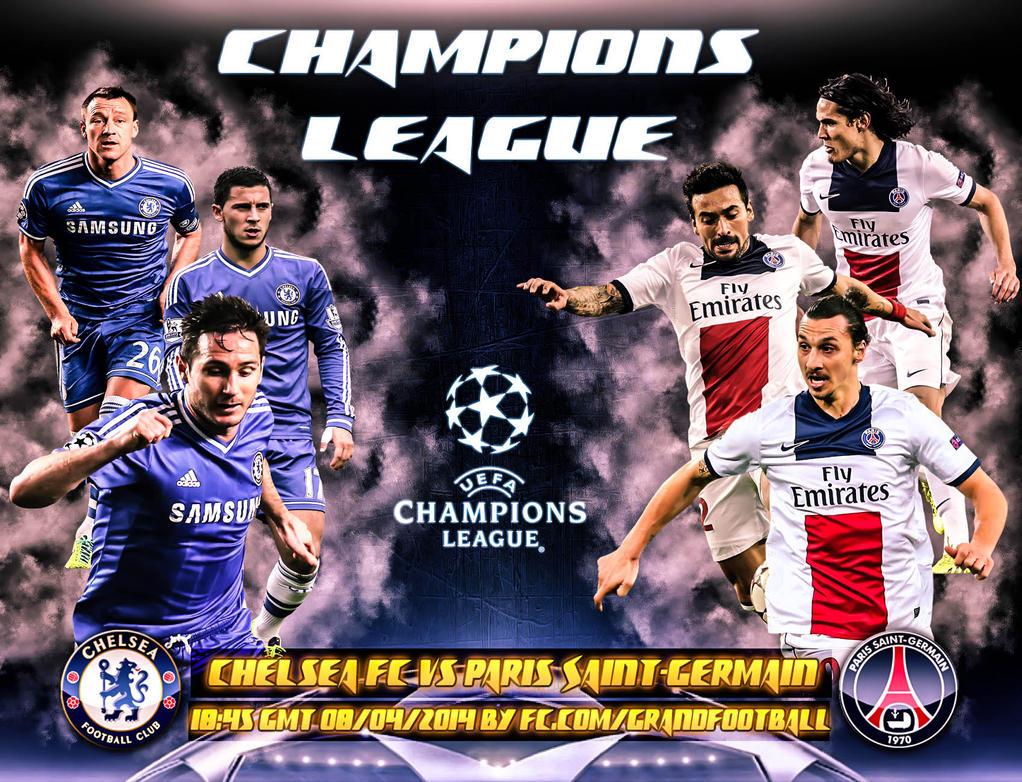 Chelsea FC Vs Paris Saint Germain By Lionelkhouya