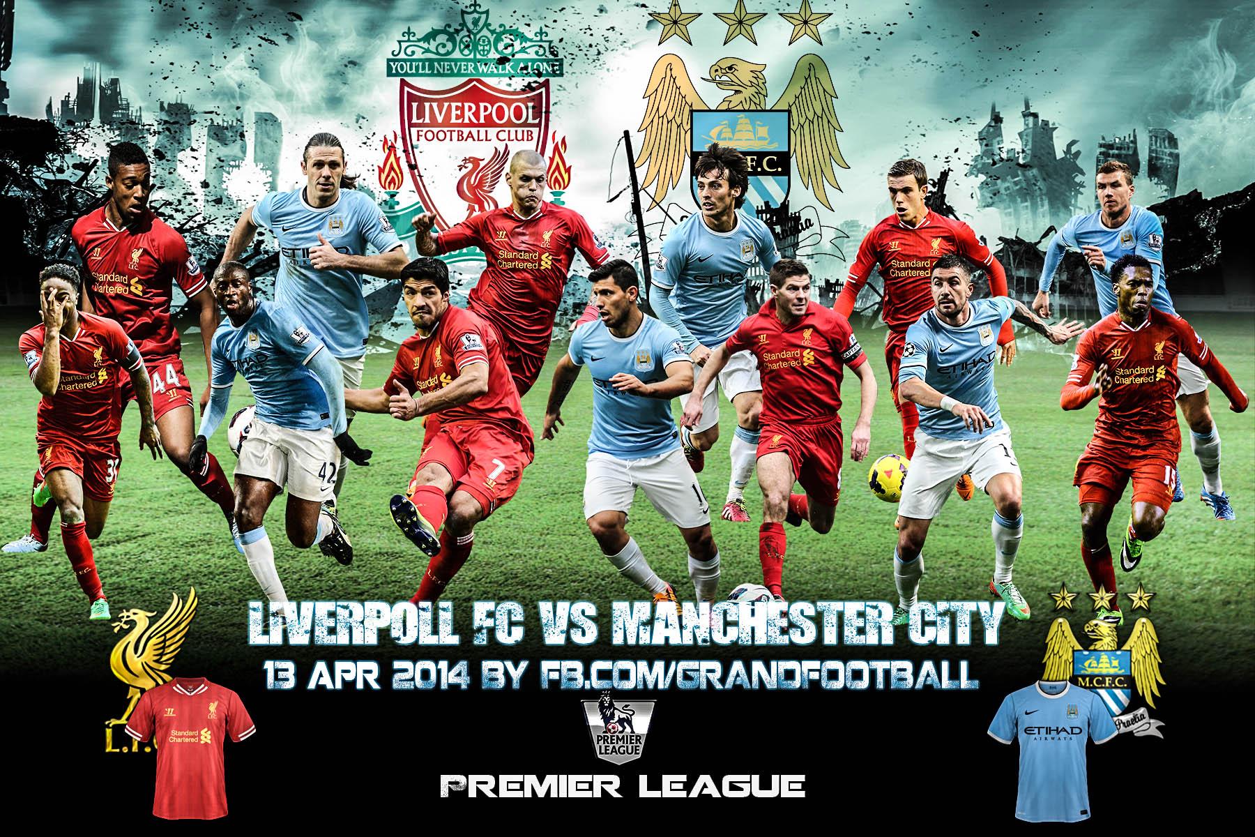 Liverpool Fc Vs Manchester City By Lionelkhouya On Deviantart