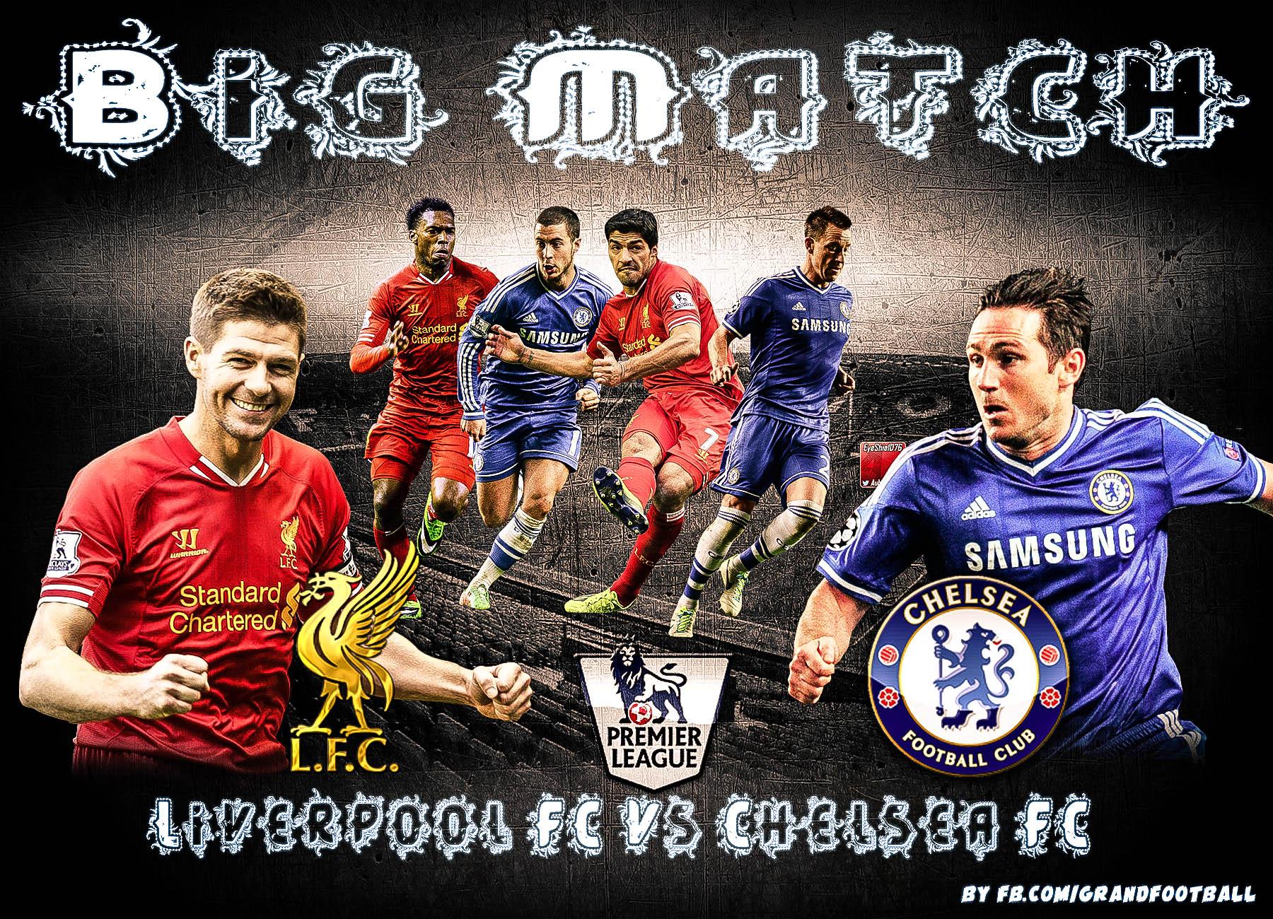 Chelsea Vs Liverpool 2014: Liverpool FC Vs Chelsea FC By Lionelkhouya On DeviantArt