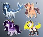 [#3 reopen] Ponies adopt batch 1