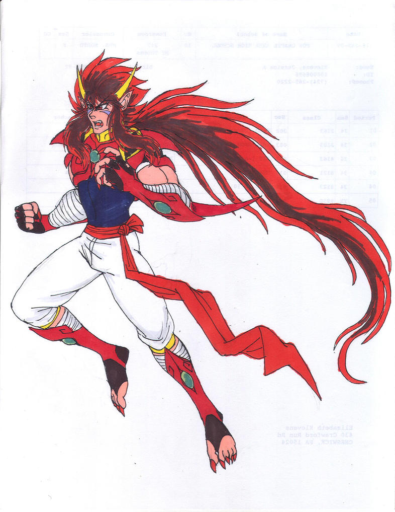 Kdz-fierce Red by Akumaru13
