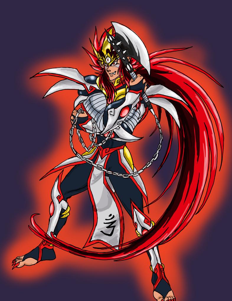 KDZ- Crimson Thunderlight by Akumaru13