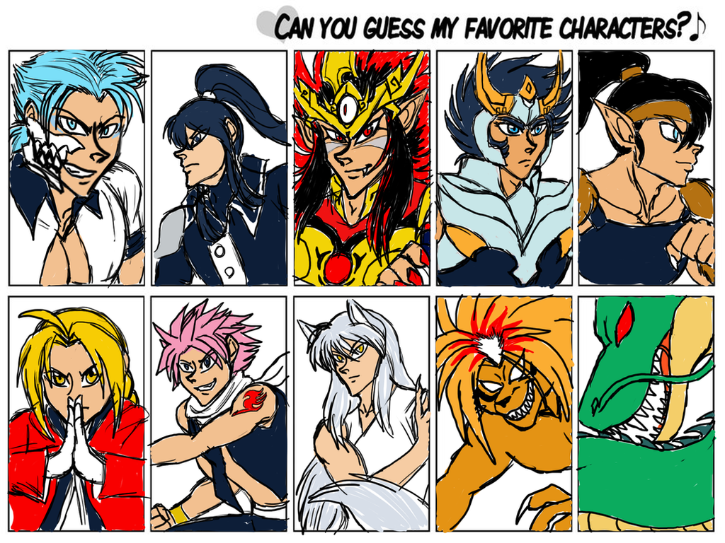 80 Percent Meme-Anime guys version- by Akumaru13