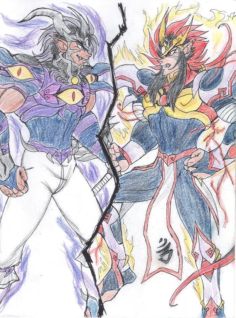 KDZ-darkness vs light by Akumaru13