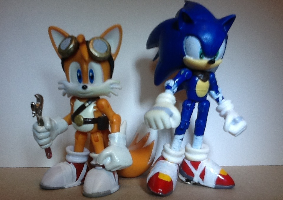 Sonic And Tails Sonic Boom By Artking3000 On Deviantart