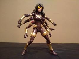 Custom Spinnerette Marvel Legend