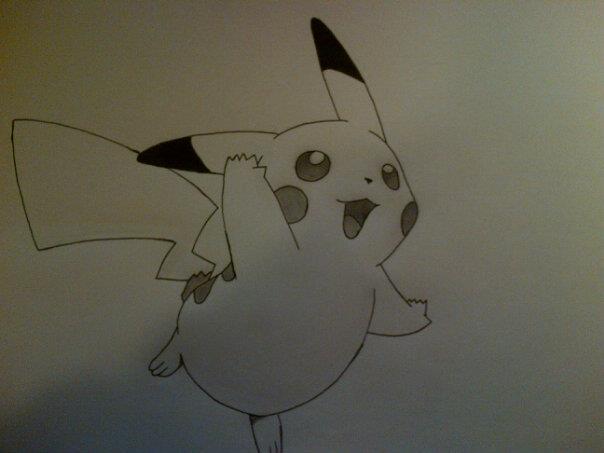 #025 Pikachu by Rawwr-Art
