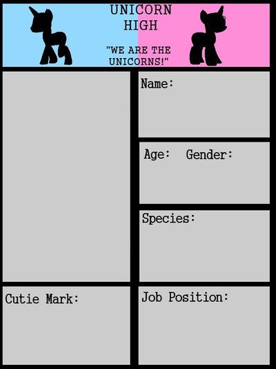Staff ID Card Template by PrincessLunalovesme on DeviantArt