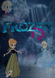 Frozen Equestria -poster- by PrincessLunalovesme