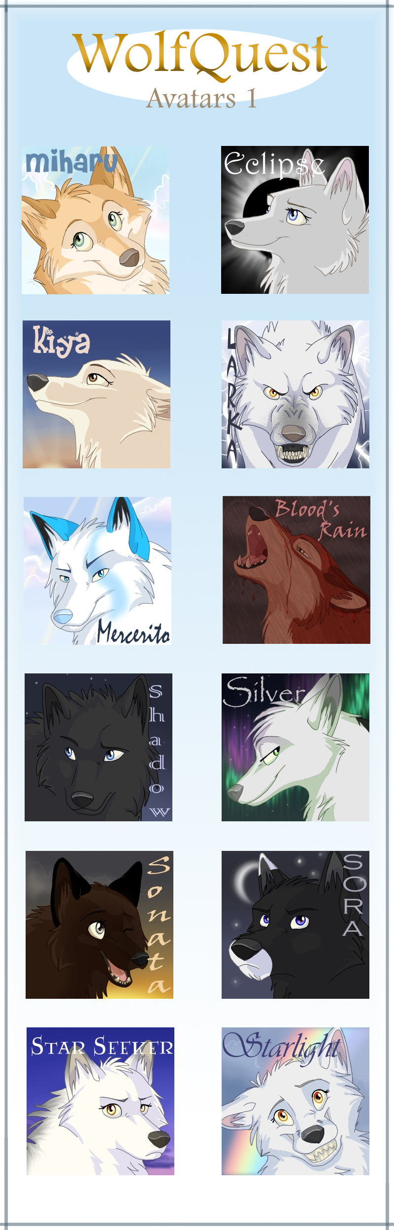 Kinipharian 106 43 Wolfquest Avatars By Noobybanana