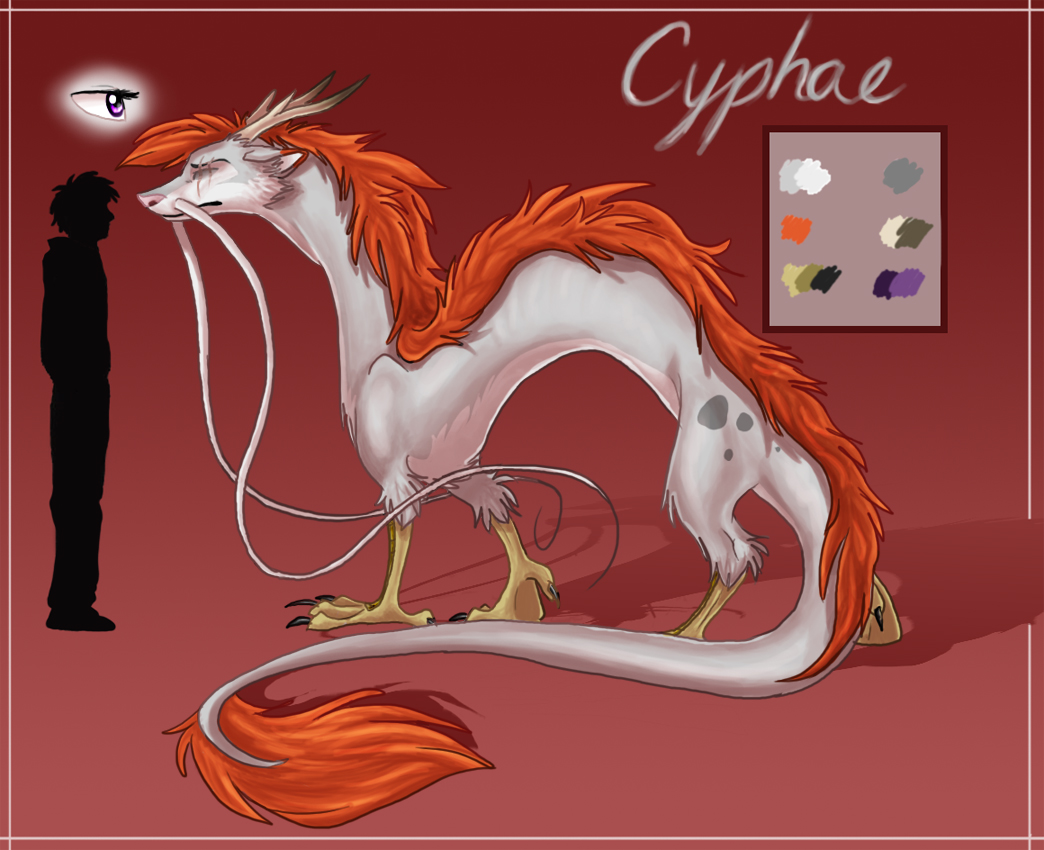 Ref Sheet: Cyphae by nooby-banana