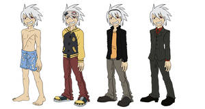 Soul Eater Evans Outfits