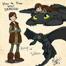 HtTYD: Sketches by nooby-banana