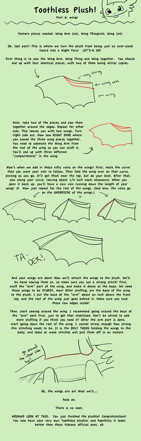 Toothless Tutorial Part 6