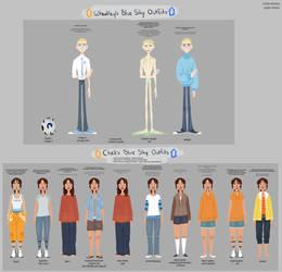 Blue Sky: Outfits