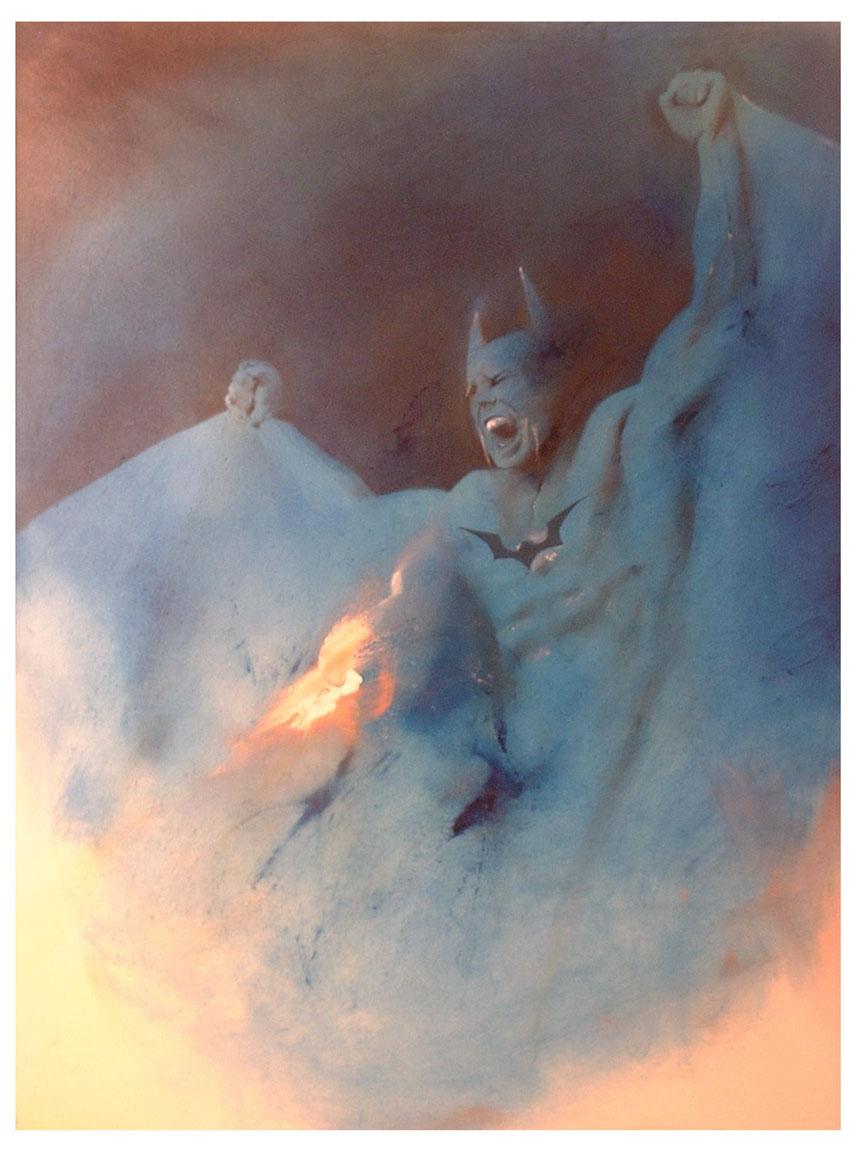 batman fire by sneedd