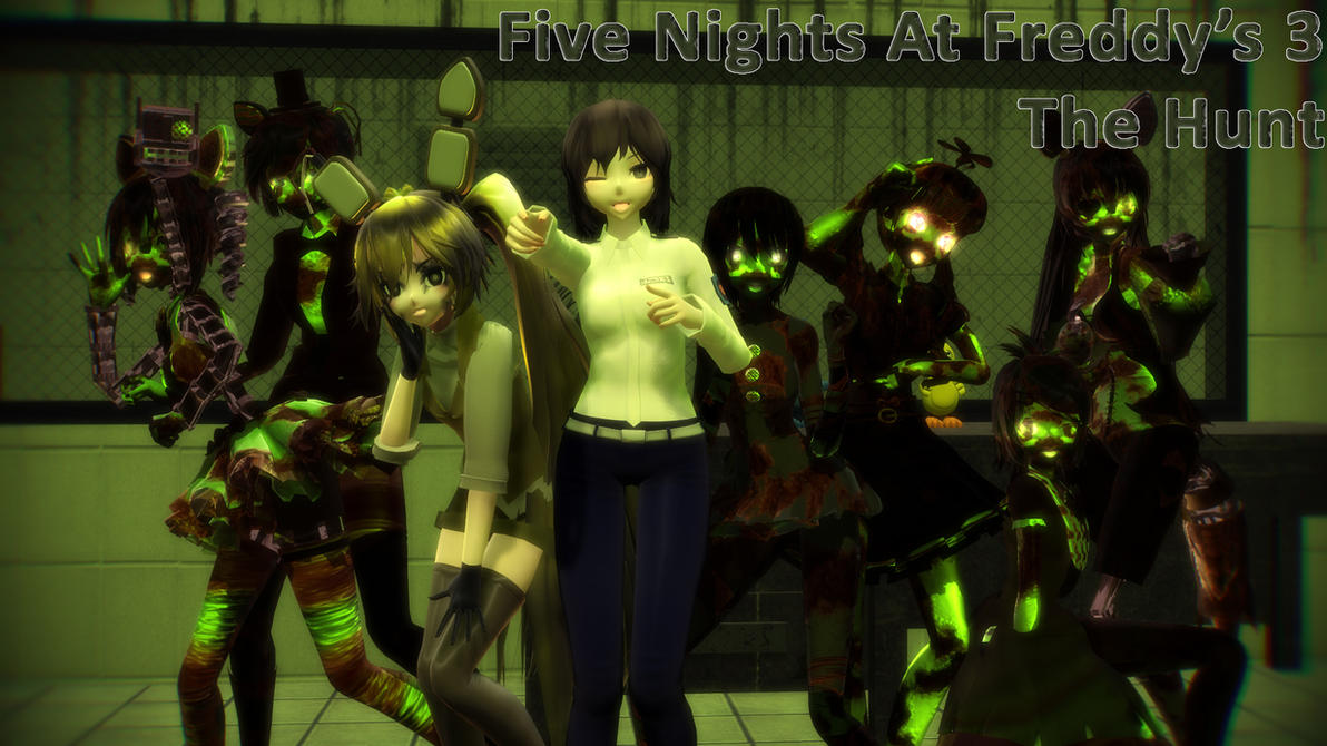 MMD Five Nights At Meiko's - The Hunt by Torchic73