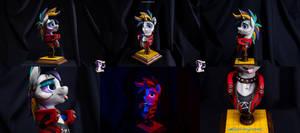 Cyberpunk 2077 Rarity's bust