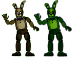 Malhare Except Its Not Malhare, It's Springbonnie.