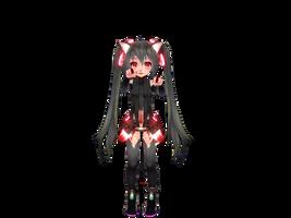 TDA Append Chibi Zatsune Miku Update by StarDream1