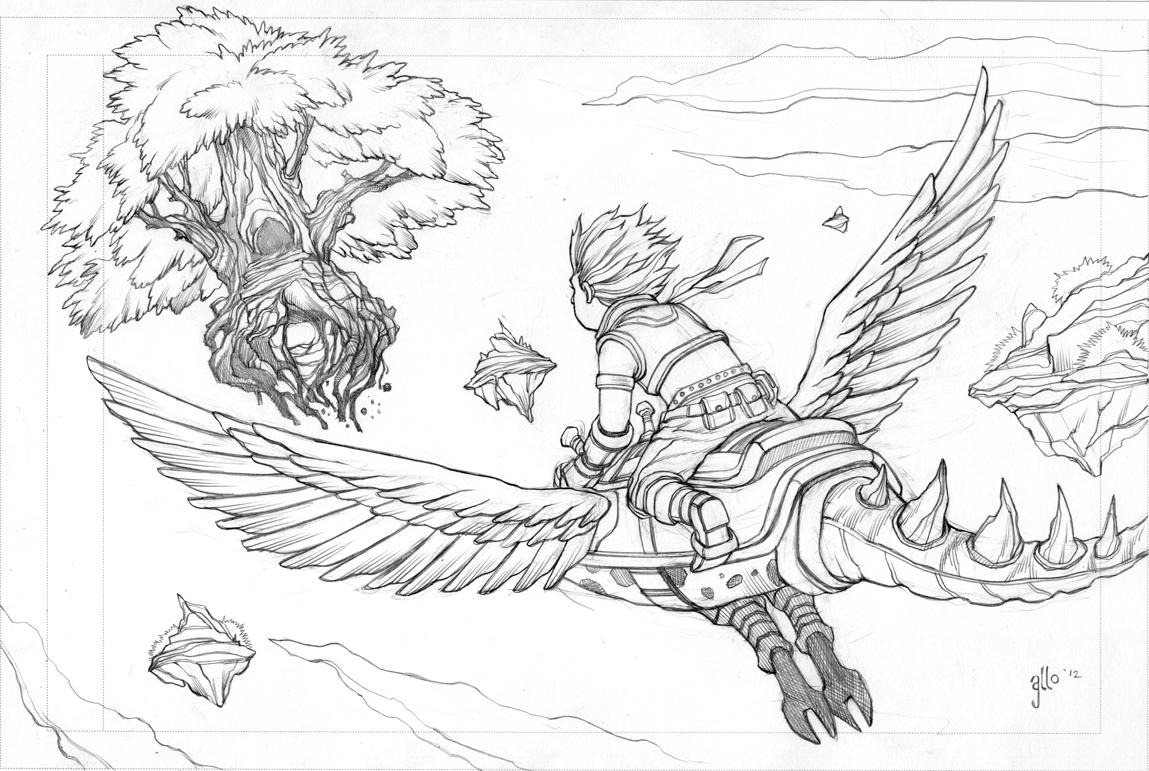 Adventure Flight by Alan-Gallo