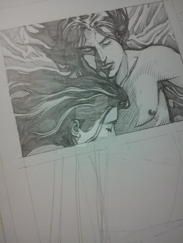 Panel 1 Detail by Alan-Gallo