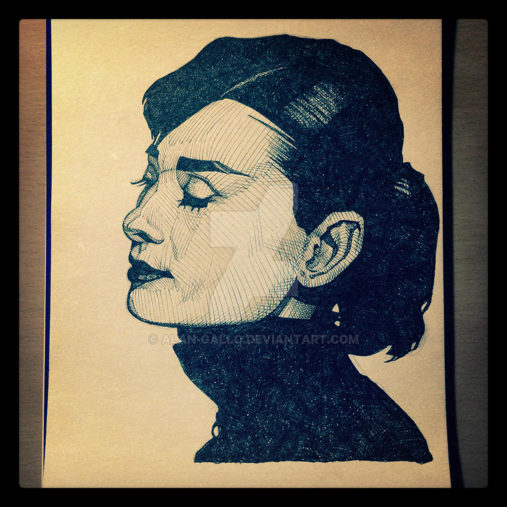 Hepburn by Alan-Gallo