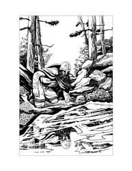 Saxon Illustration 1 by Alan-Gallo
