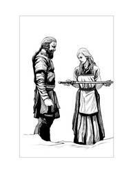 Saxon Illustration 2 by Alan-Gallo