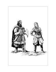 Saxon Illustration 3 by Alan-Gallo