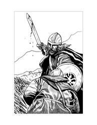 Saxon Illustration 6 by Alan-Gallo