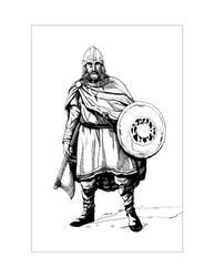 Saxon Illustration 7 by Alan-Gallo