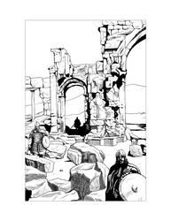 Saxon Illustration 10 by Alan-Gallo