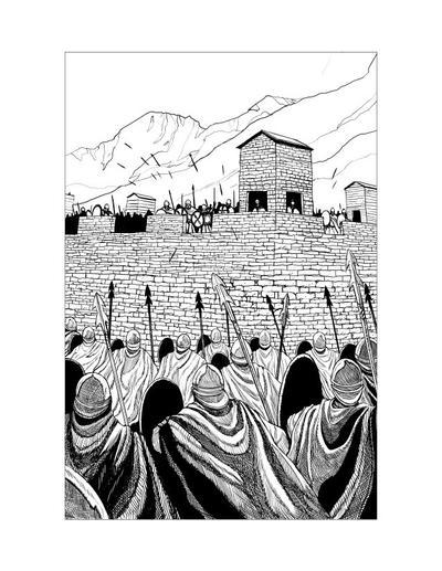 Saxon Illustration 11 by Alan-Gallo