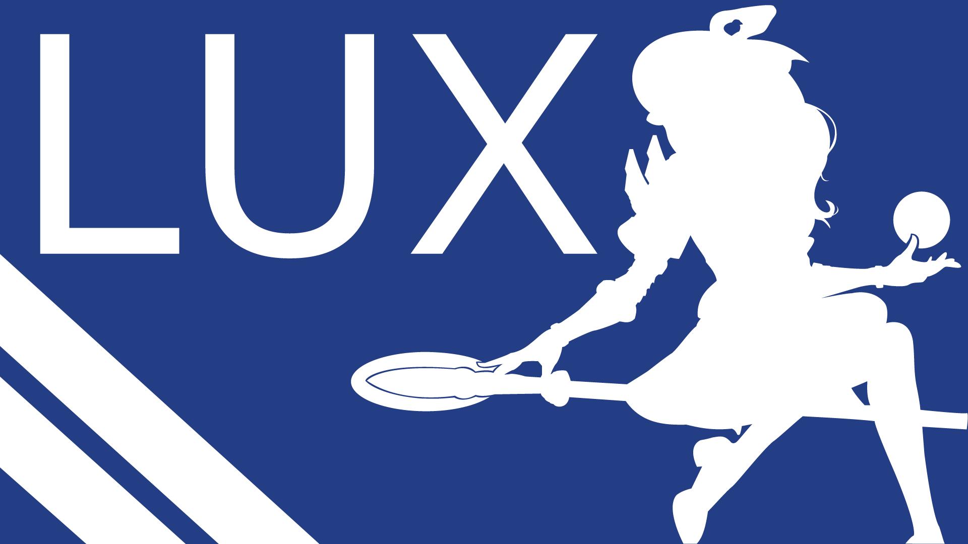 LUX Silhouette - Dark Blue - White - 1920x1080 by urban287