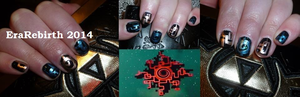 Twilight princess portal nail art by erarebirth on deviantart twilight princess portal nail art by erarebirth prinsesfo Gallery