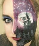 Full Moon x Winter Solstice Face Painting - Full